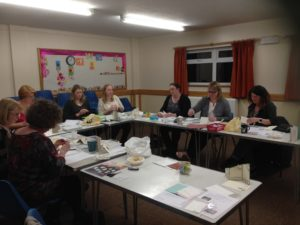 Talented Ladies at SouthwaterCard Class