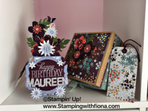#cardinaboxmatchingset #stampin'up!