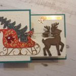 #SantasSleigh#Stampin'Up!#favouriteChristmascard