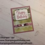 #sweet sugarplum #stampin'up! #serene scenery